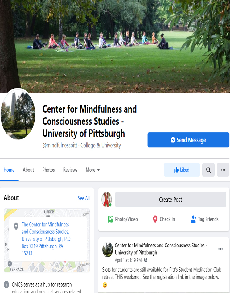 The Center on Facebook